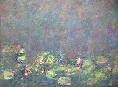 Painting - Water -lilies By Claude Monet by Peter Barritt