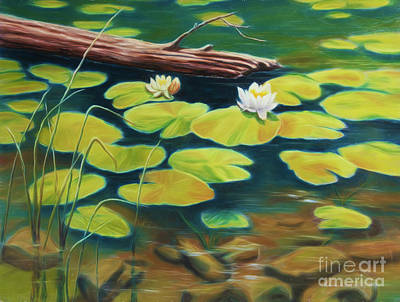 Royalty-Free and Rights-Managed Images - Water Lilies by Veikko Suikkanen