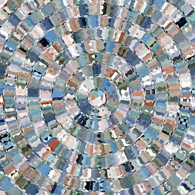 Digital Art - Water Mosaic by David Manlove