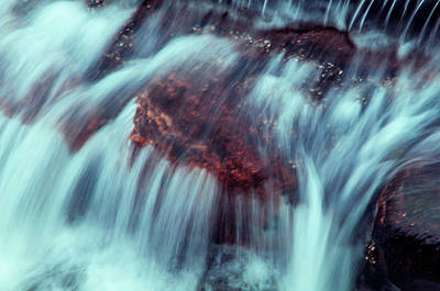 Photograph - Water Rapids 1 by Jenny Rainbow