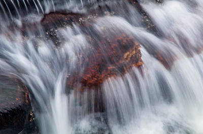 Photograph - Water Rapids by Jenny Rainbow