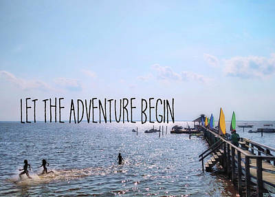 Photograph - Water Sports Quote by JAMART Photography