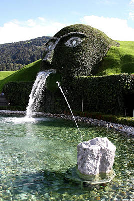 Tyrol Wall Art - Photograph - Water-spouting Giant Of Swarovski by Bruce Yuanyue Bi