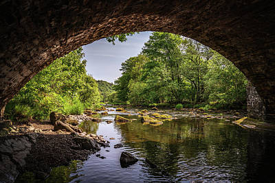 Photograph - Water Under The Bridge by Framing Places