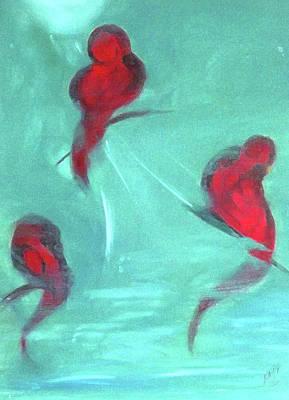 Belinda Landtroop Royalty-Free and Rights-Managed Images - Waterbirds by Belinda Landtroop