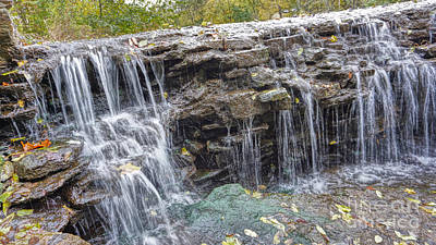 Photograph - Waterfall @ Sharon Woods by Jeremy Lankford