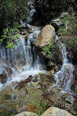 Waterfall At Emerald Bay Original