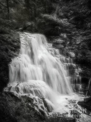 Photograph - Waterfall At Rickett's Glen by Sharon Seaward