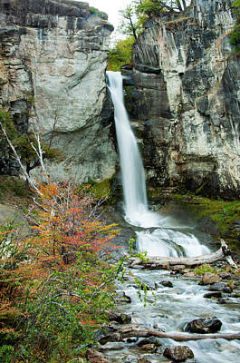 Photograph - Waterfall by Avinash Achar