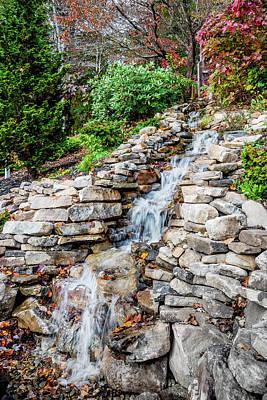 Photograph - Waterfall - Helen by James L Bartlett