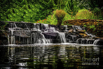 Photograph - Waterfall In Hamilton by Nick Zelinsky