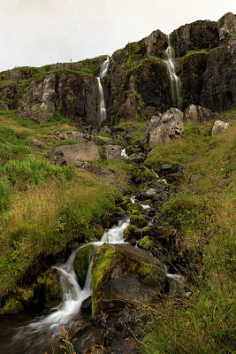 Photograph - Waterfalls And Streams In Seydisfjordur by RicardMN Photography