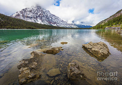 Photograph - Waterfowl Lake by Inge Johnsson