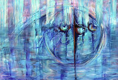Painting - Waterfront by Shuanteya Sherman