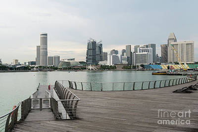 Photograph - Waterfront Singapore by Didier Marti
