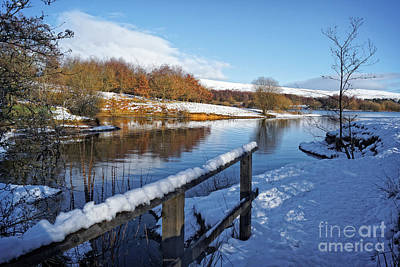 Photograph - Watergrove Reservoir by David Birchall