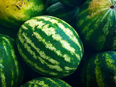 Photograph - Watermelons by Nathan Little
