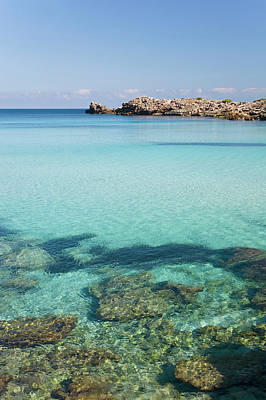 Photograph - Waters Of Cala Molto, Near Cala Agulla by David C Tomlinson