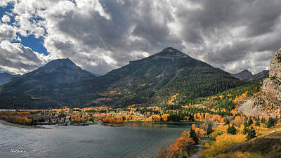 Photograph - Waterton Park Town Site by Tim Kathka