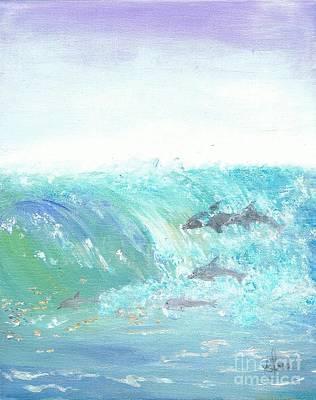 Painting - Wave Front by Karen Jane Jones