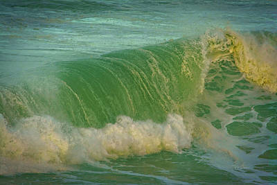 Art Print featuring the photograph Wave Power by Bill Posner