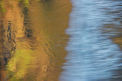 Photograph - Wave Reflections 1 by Leland D Howard