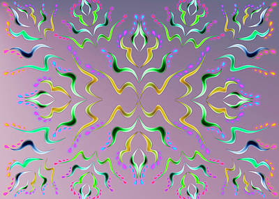 Digital Art - Wave Simply by Vitaly Mishurovsky