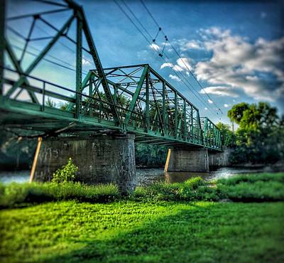 Photograph - Waverly Bridge by Lukas Miller