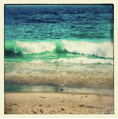Photograph - waves crashing II by Deborah Miller