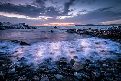 Photograph - Waves In Motion by Peter OReilly
