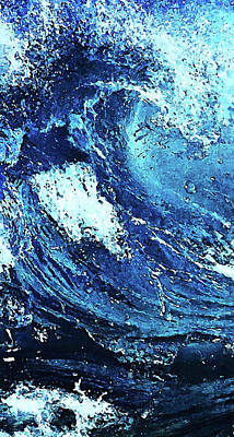 Painting - Waves Of Summer - 03 by Andrea Mazzocchetti