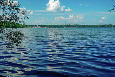 Photograph - Waves On Lake Harriet by Susan Rydberg