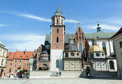 Photograph - Wawel Cathedral by Ramunas Bruzas