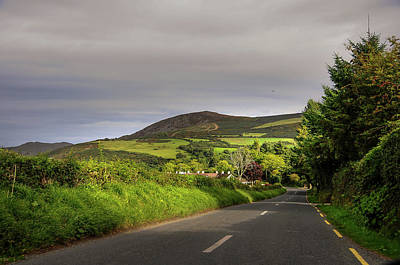 Photograph - Way To Sugarloaf Hill. Ireland by Jenny Rainbow