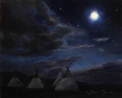 Painting - Wayfarers by Anna Rose Bain