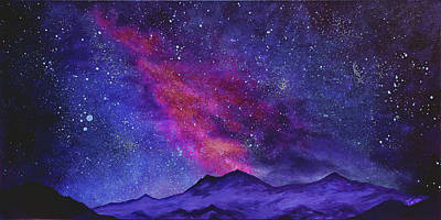 Oneness Painting - We Are The Infinite  by Faren Peterson