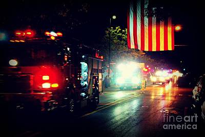 Frank J Casella Royalty-Free and Rights-Managed Images - We Remember 9/11 by Frank J Casella