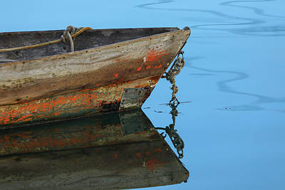 Photograph - Weathered Dory by Juergen Roth