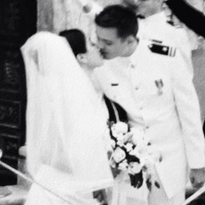 Photograph - Wedding Kiss by Cherylene Henderson