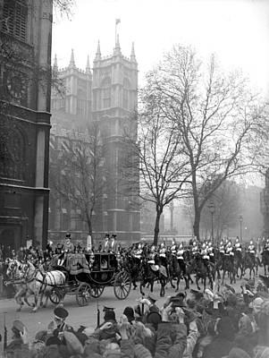 Photograph - Wedding Parade by Keystone