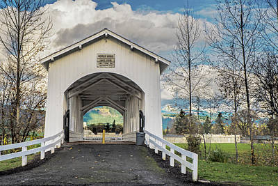 Photograph - Weddle Bridge by Matthew Irvin