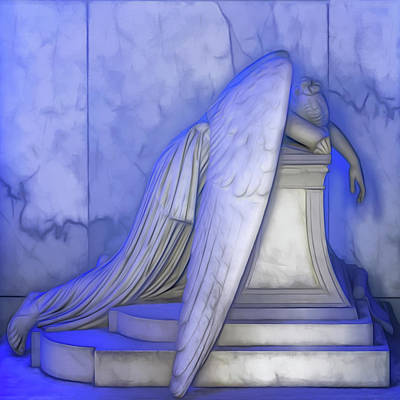 Photograph - Weeping Angel by Susan Rissi Tregoning