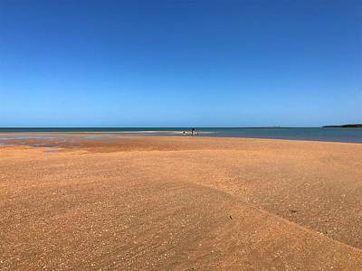 Photograph - Weipa Beach Life The Tide Is Out by Joan Stratton