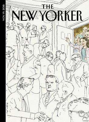 Women Drawing - Welcome To Congress by Barry Blitt