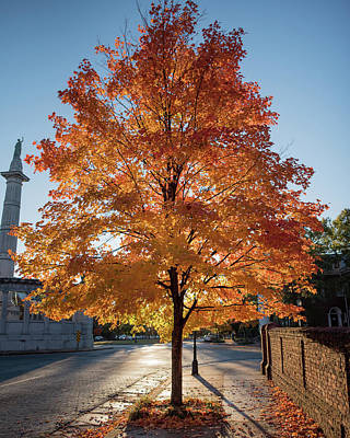 Photograph - Welcome To Fall In Richmond Va by Doug Ash
