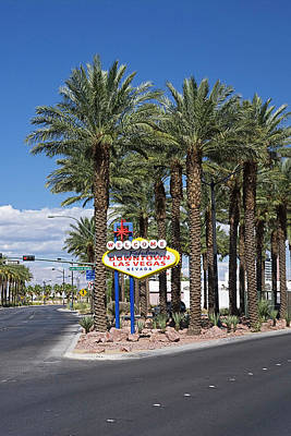 Photograph - Welcome To Las Vegas Sign, Las Vegas by Radius Images