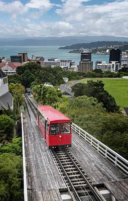 Photograph - Wellington New Zealand Cable Car by Joan Carroll