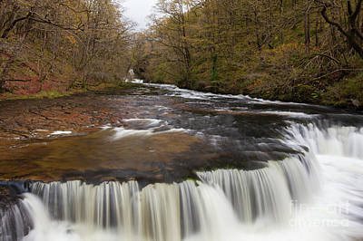 Wall Art - Photograph - Welsh Waterfall by Pippa Dini