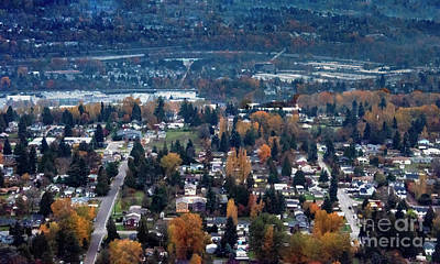 Photograph - Wenatchee In November by Mae Wertz