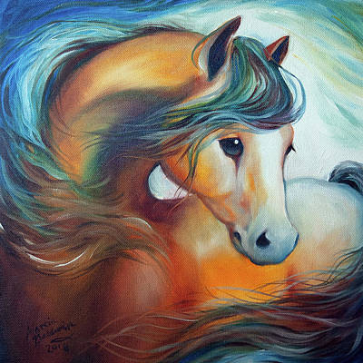 Painting - Wendy My Horse by Marcia Baldwin